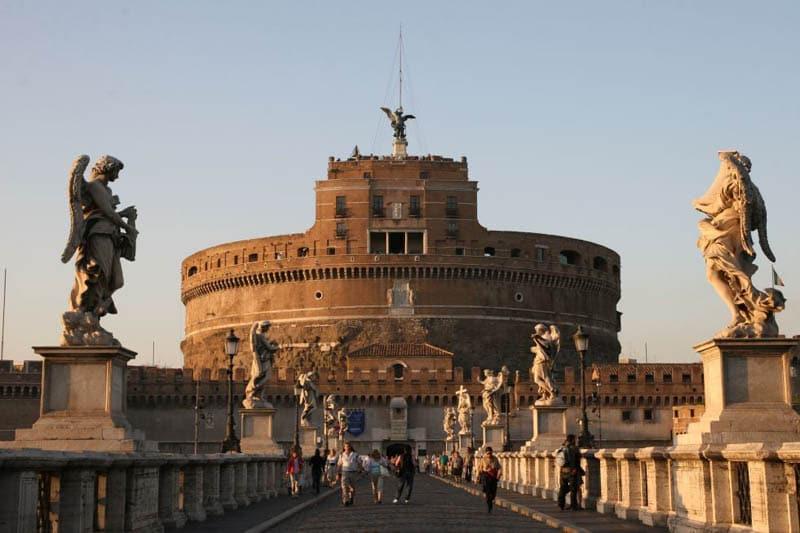Castelo Sant' Angelo em Roma