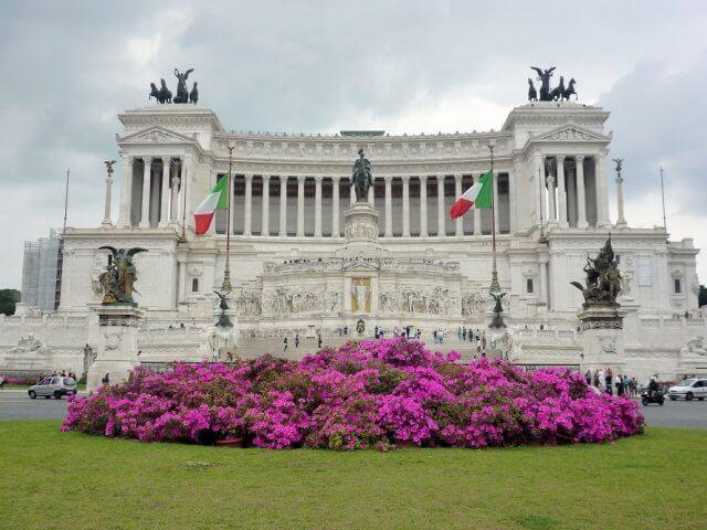 Piazza Venezia em Roma