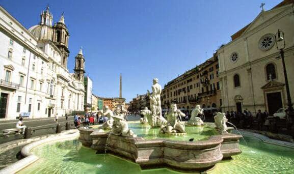 Piazza Navona em Roma