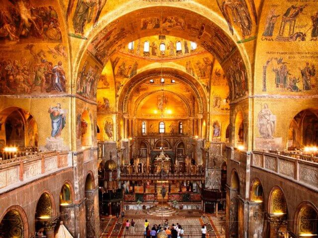 Basílica de São Marcos em Veneza