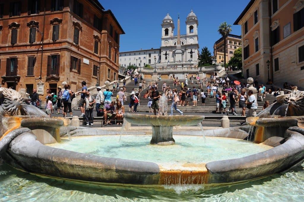 Principais praças de Roma