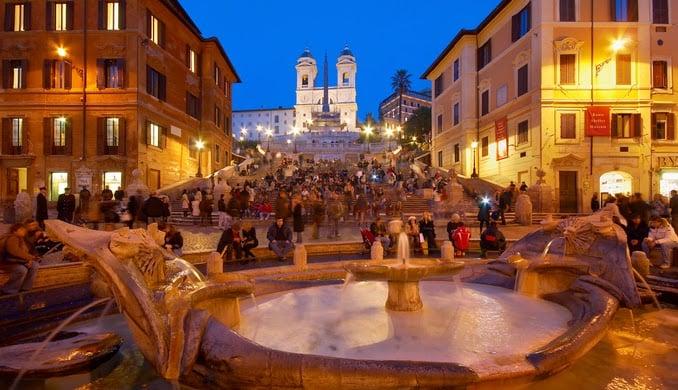 Dicas do que encontrar na Piazza di Spagna em Roma