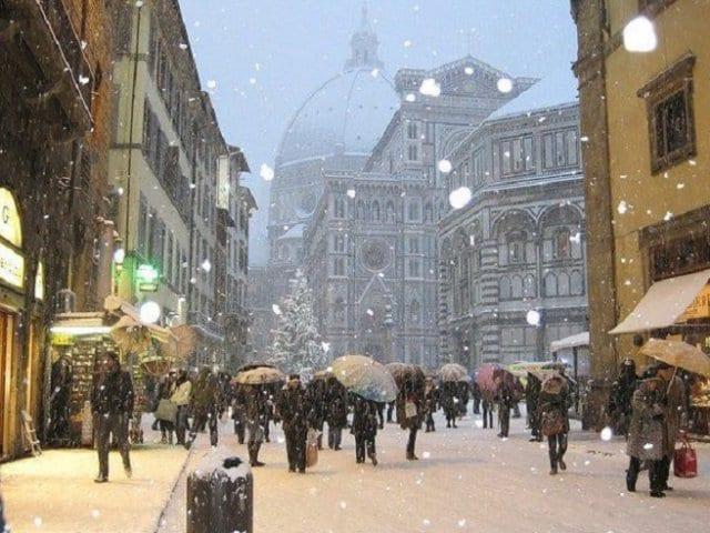 Clima e Temperatura em Florença