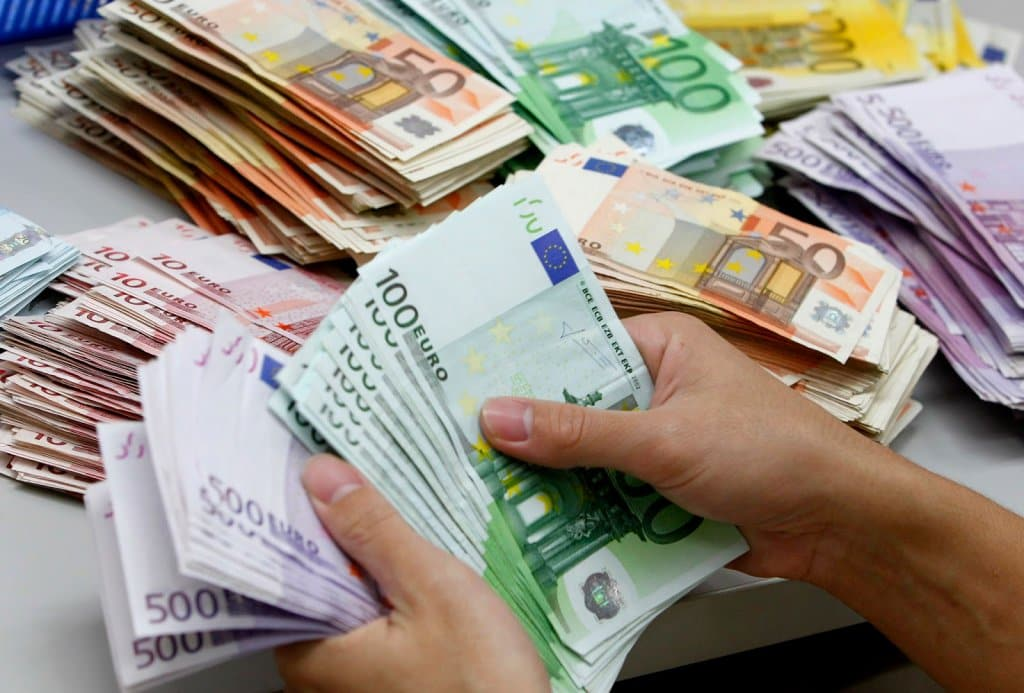 Dinheiro na Itália