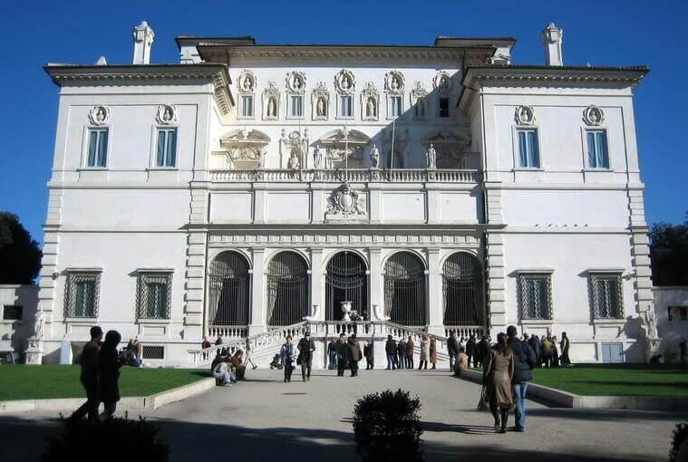 Atrativos da Villa Borghese em Roma