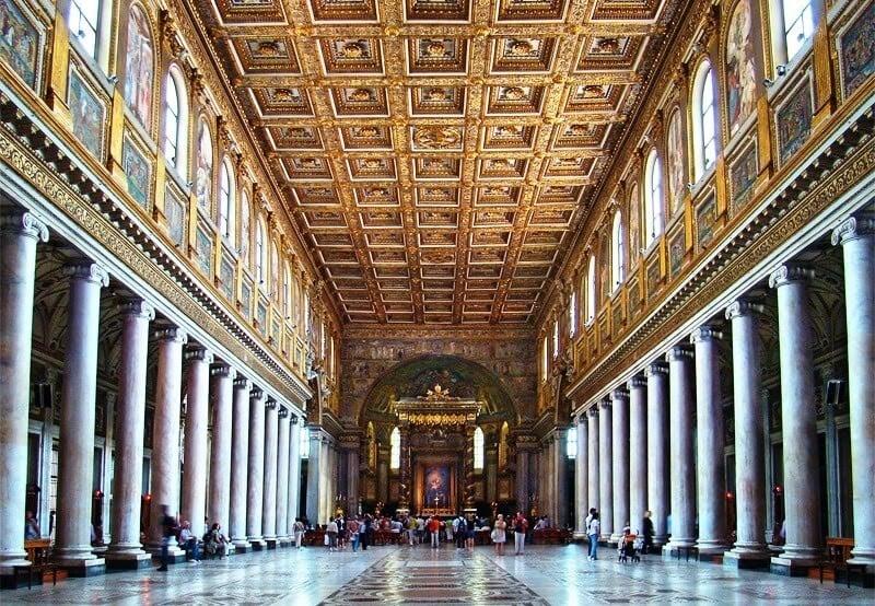 Basílica de Santa Maria Maior em Roma
