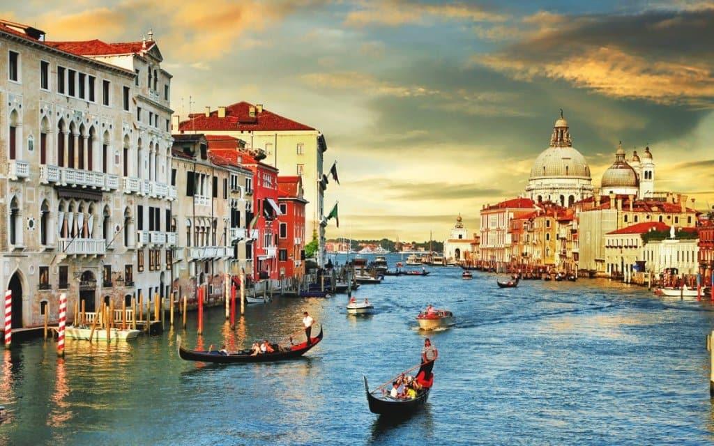 Passeios em Veneza na Itália