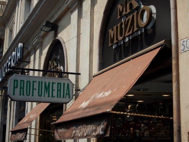 Onde comprar perfumes em Roma