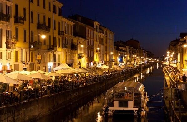 Ficar hospedado na região de Navigli em Milão