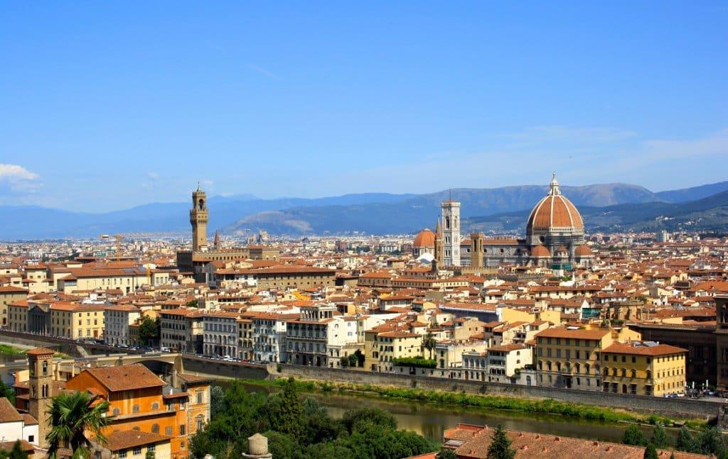Vista da cidade de Florença