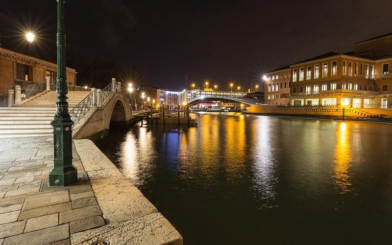 Bairro de Santa Croce em Veneza