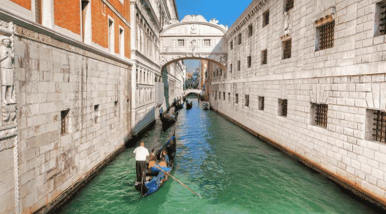 Ponte dos Suspiros de Veneza