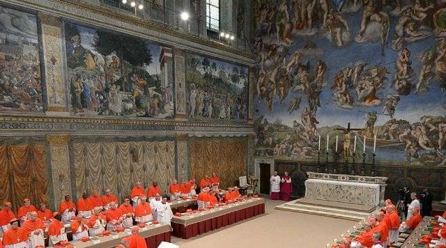 Capela Sistina no Vaticano em Roma