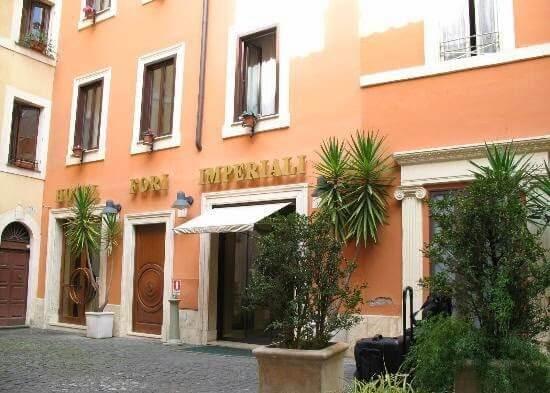 Hotel Fori Imperiali Cavalieri em Roma