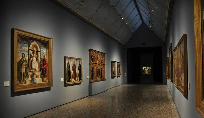 Obras exposta na Pinacoteca Brera
