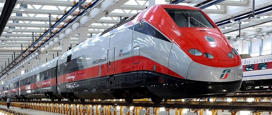 Modelo de transporte da Trenitalia