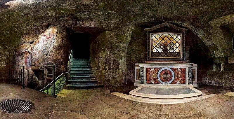 Passeio pela Prisão São Pedro em Roma