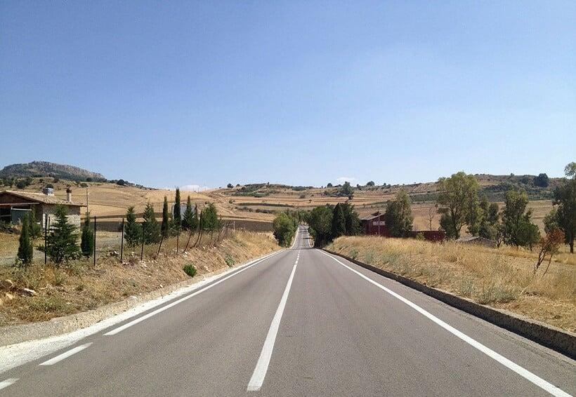 Estradas em Florença e na Itália