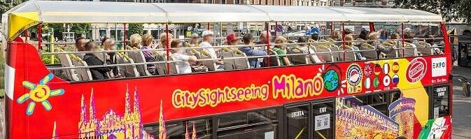 Ônibus Hop on Hop Off de Milão