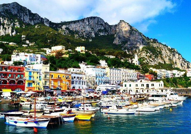 Onde ficar na Ilha de Capri: melhores regiões