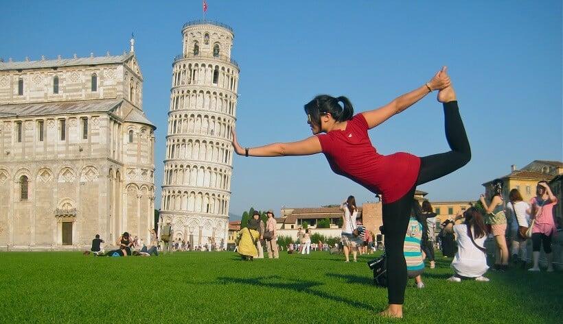 Torre de Pisa na Itália