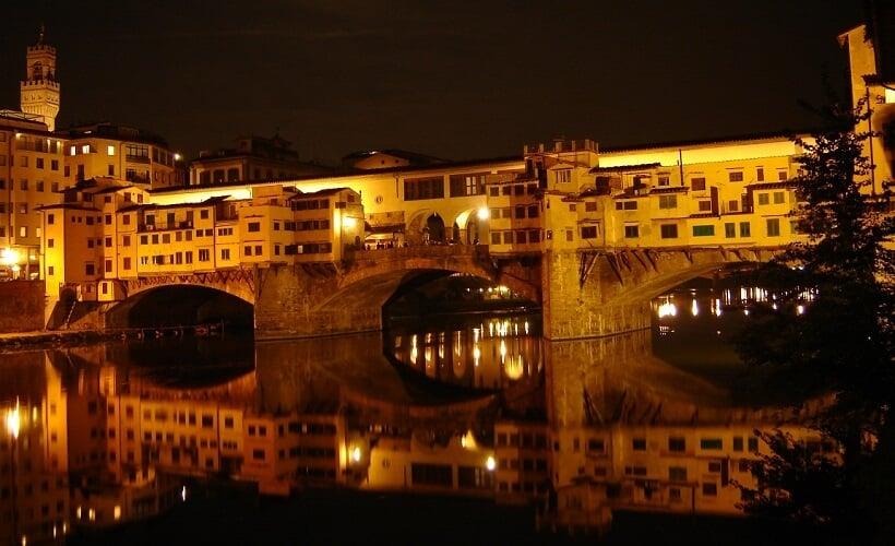 Ponte Vecchio na Itália