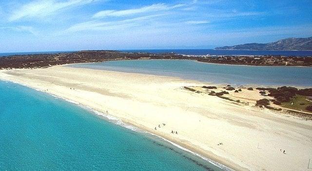 Praias em Cagliari na Sardenha
