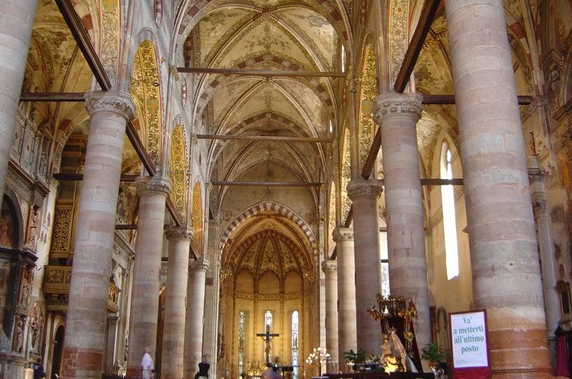 Igreja de Santa Anastácia em Verona