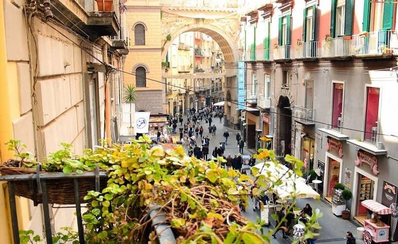 Região Chiaia em Nápoles