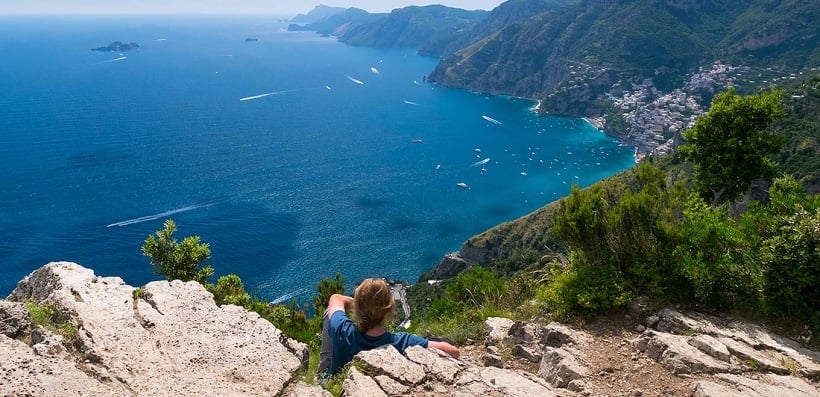Nocelle na Costa Amalfitana na Itália