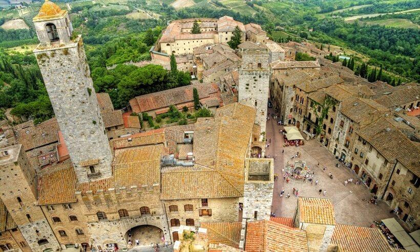 San Gimignano: destino toscano considerado patrimônio cultural da humanidade