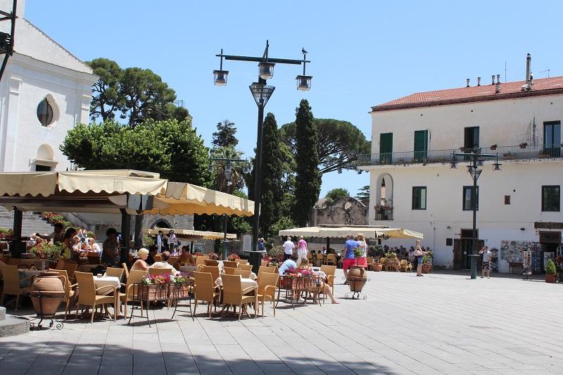 Região central de Ravello