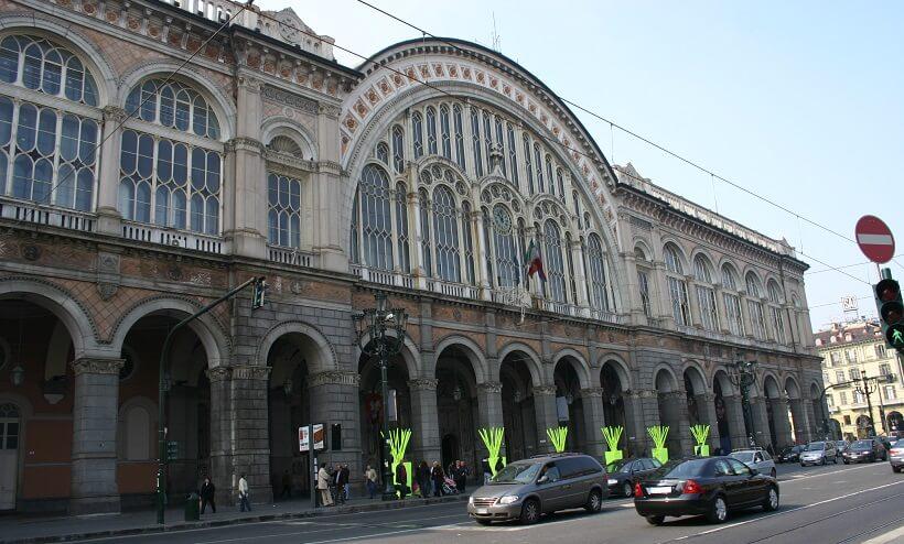 Estação de trem Porta Nuova em Verona