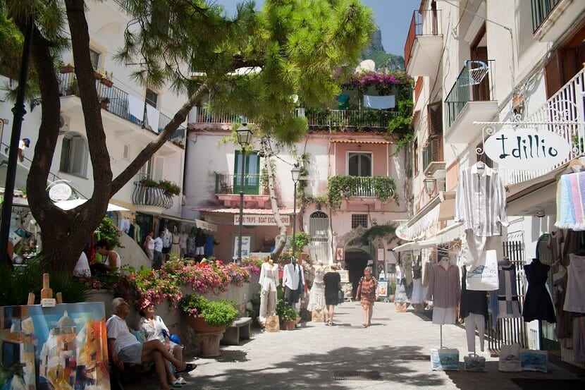 Passeio pelas ruelas de Amalfi