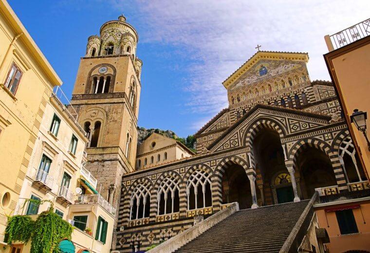 Visita ao Duomo di Sant'Andrea em Amalfi