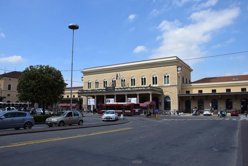 Região da estação de trem de Bolonha