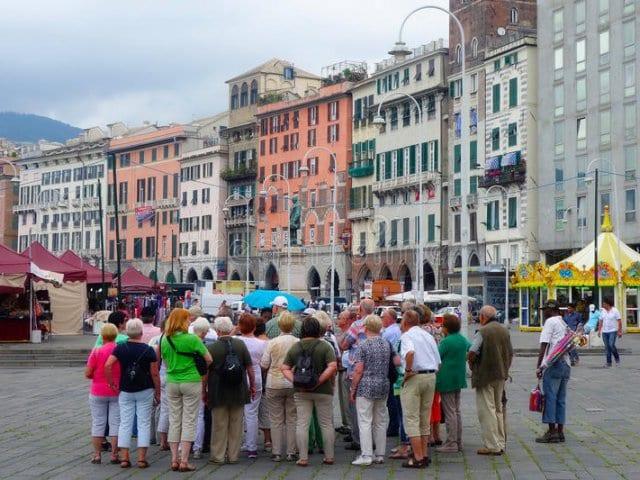 Pontos turísticos em Génova