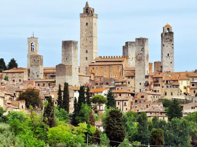 Onde ficar em San Gimignano: melhores regiões