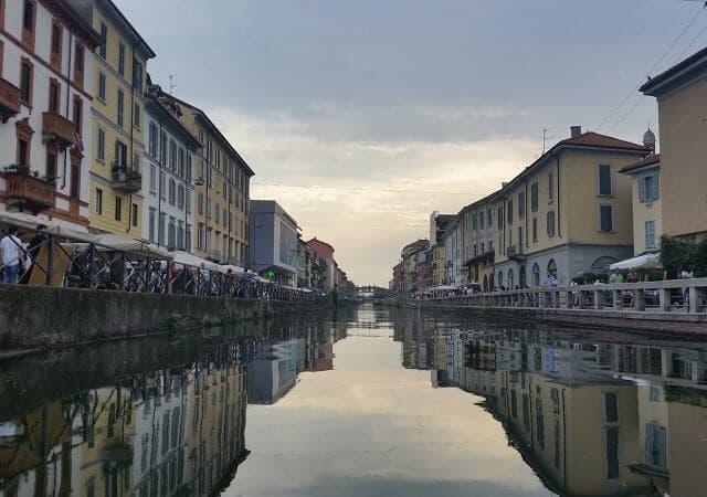 Naviglio Grande em Milão