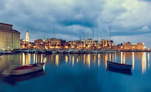 Pontos turísticos em Bari