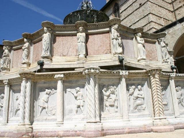 Pontos turísticos em Perugia