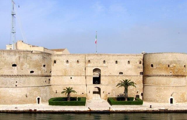 Pontos turísticos em Taranto