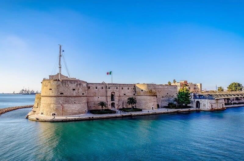 Castello Aragonese em Taranto