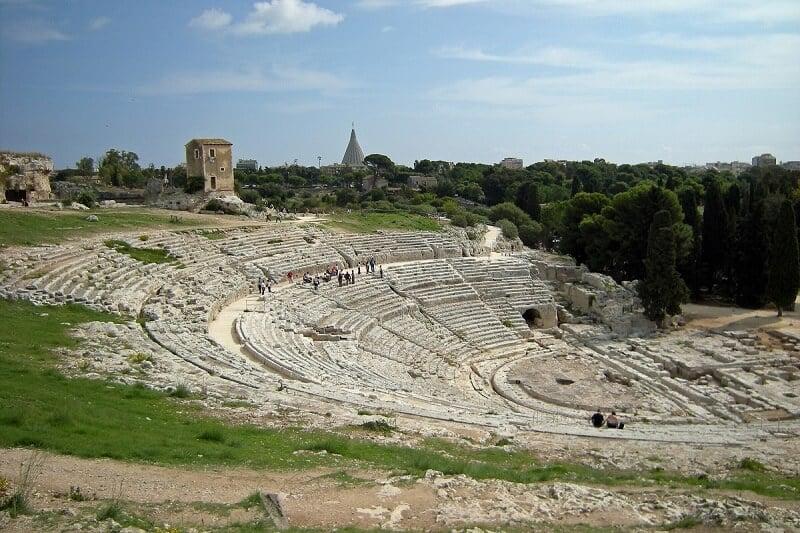 Parque Arqueológico de Neápolis em Siracusa