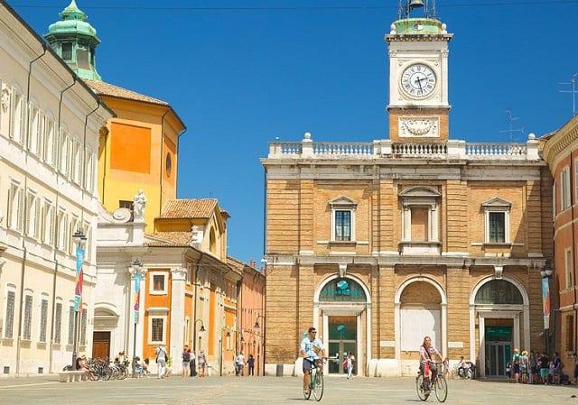 Pontos turísticos em Ravenna