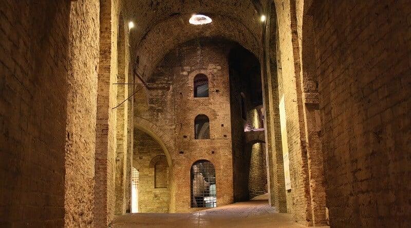 Rocca Paolina em Perugia