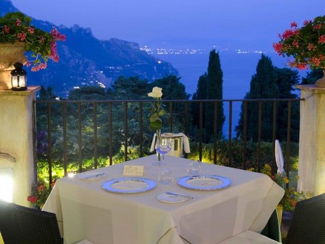 Melhores restaurantes em Ravello
