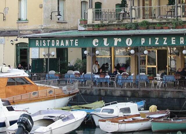 Melhores restaurantes em Nápoles