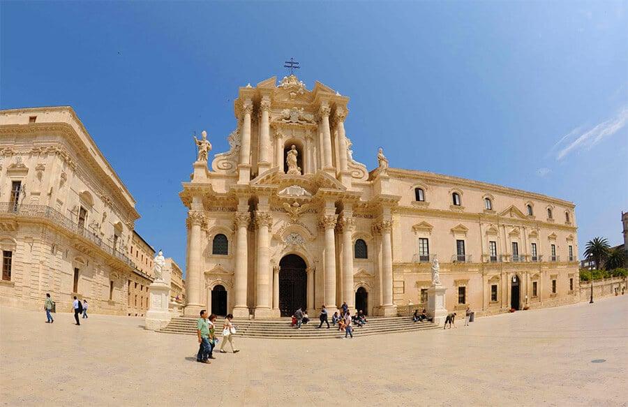 Duomo di Siracusa na ilha Ortígia
