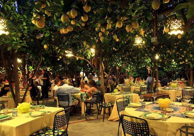 Melhores restaurantes em Capri